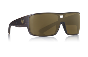 Dragon Hex Sunglasses Matte Woodgrain I Copper Ion
