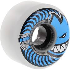 Spitfire 80Hd Wheels Charger Conical Clear/Blue 56mm