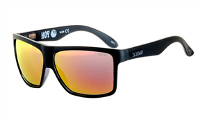 Liive Hoy 4 Mirror Polarized Float Sunglasses, Black