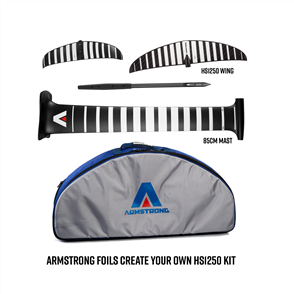 Armstrong Foils HS1250 Wing + 85cm Mast Foil Kit, Create Your Custom Combo