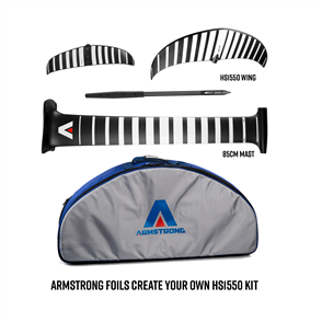 Armstrong Foils HS1550 Wing + 85 Mast Foil Kit, Create your custom combo