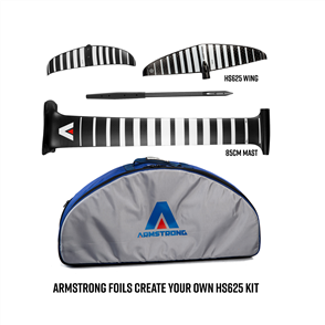 Armstrong Foils HS625 Wing + 85cm Mast Foil Kit, Create your custom combo