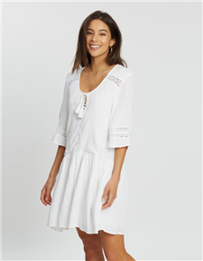 Oneill Eve Dress, White Out
