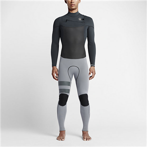 Hurley Mens Phantom 3/3mm Full Suit Wetsuit 06F, Anthracite