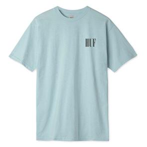 HUF DEJA VU Short Sleeve Knit Tee, CLOUD BLUE