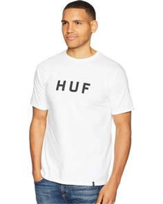 HUF Essentials Og Logo Short Sleeve Tee, White
