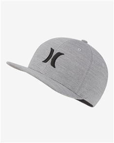 Hurley DRI-FIT CUTBACK  HAT, Wolf Grey/ Black