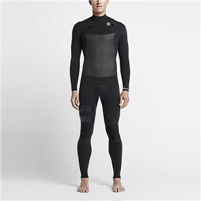 Hurley Mens Phantom 3/3mm Full Suit 00A, Black