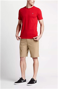 Hurley MENS DRI-FIT CHINO SHORT 21INCH  WALKSHORT, KHAKI
