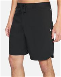 Hurley PHANTOM HW MAX SOLID 18 BOARDSHORT, BLACK