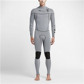 Hurley Boys Fusion 302 Full Suit Wetsuit 06B, Cool Grey