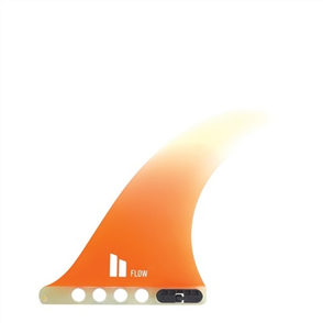 "FCS Ii Flow Pg 8"" Orange Lb Fins"