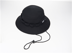 New Era ADVENTURE URBAN TECH 4 BUCKET HAT, BLACK