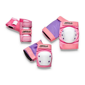 Impala Protective Safety Pad Set Adult, Pink