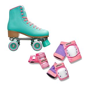 Impala Skates & Pads Combo, Aqua