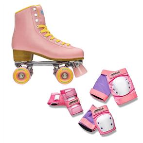 Impala Skates & Pads Combo, Pink