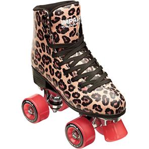 Impala Quad Rollerskates, Leopard