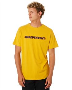 Independent BC PRIMARY SHORT SLEEVE TEE, CANARY