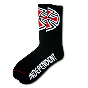 Independent Mens OG Cross Socks 4Pair, Black