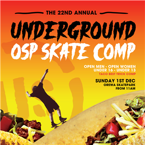 US SKATE COMP - 1st December 2019