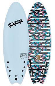 Odysea JOB Odysea Skipper Pro Quad Softboard, Sky Blue 18