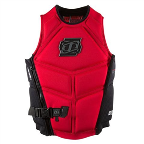 Jet Pilot Nighthawk2 Seg F/E Neo Vest - Level 50 Red