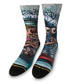 Merge4 Mens Jimbo Phillips - Surf Freak Mens Socks