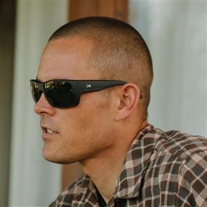 OTIS Coastin Sunglasses, Matte Black/ Grey