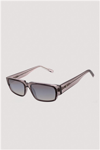 KENDALL + KYLIE JOSETTE Sunglasses, Shiny Metallic Light Grey