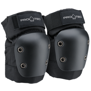 Protec Street Gear Junior Pad Set 3 Pk, Black