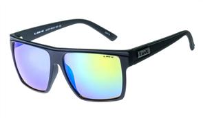 Liive Juzzo - Mirror Sunglasses, Matt Black