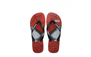 Havaianas Kids Top Marvel Spiderman 0090 Jandals, Black
