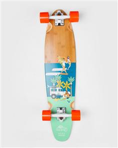 """Shifty Kiwi Summer Longboard Complete, Flex, Size 34.0"""""""