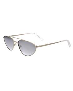 KENDALL + KYLIE LEIA Sunglasses, Shiny Silver