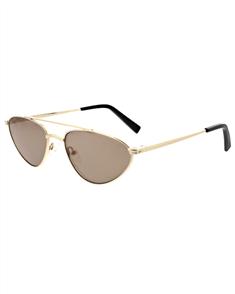 KENDALL + KYLIE LEIA Sunglasses, Shiny Gold