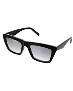 KENDALL + KYLIE KAMILLA Sunglasses, Black and Silver