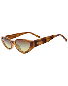 KENDALL + KYLIE JADE Sunglasses, Shiny Amber Tort