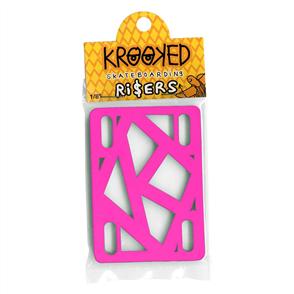 KROOKED RISER HOT PINK 1/8