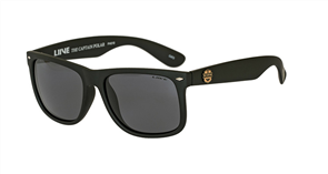 Liive The Captain - Polar Signature Series Sunglasses, Matt Black