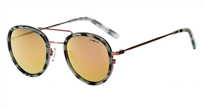 Liive Ciaro-Revo Signature Series Sunglasses, Rose Gold