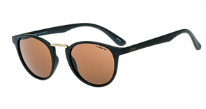Liive Feline Sunglasses, Matt Black