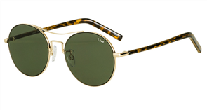 Liive Berlin Sunglasses, Gold