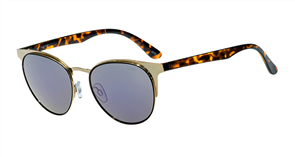 Liive Elle Sunglasses, Gold