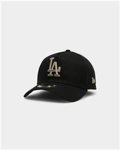 New Era 940AF LOS ANGELES DODGERS Q121 CAP, BLK GLD