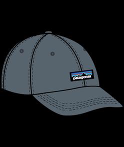 Patagonia P-6 Label Trad Cap, Plume Grey, OSFA