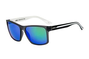 Liive Kerrbox - Mirror Sunglasses, Matt Xtal Black/White