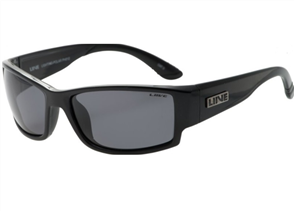 Liive Lightning Polarized Sunglasses, Matt Black