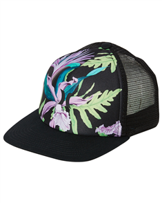 Hurley Womens Icon Trucker Cap, Lilac Ice