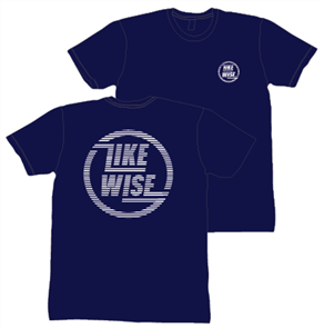 Likewise Lineage Short Sleeve Tee, Navy