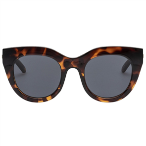 LE SPECS AIR HEART SUNGLASSES, TORT